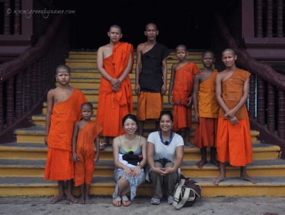 Meet the monks ~ Join me on Discovery Tour of Cambodia